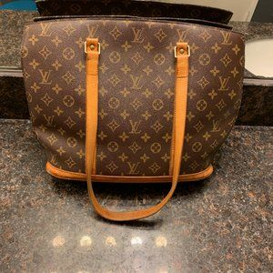EUC Auth Louis Vuitton Brown Babylone Tote Purse